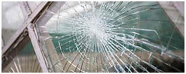 Barry Smashed Glass
